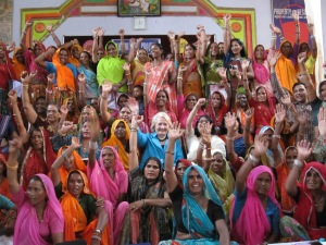 Ambassador-at-Large for Global Women's Issues (2011) Melanne Verveer Meets Elected Indian Female Representatives