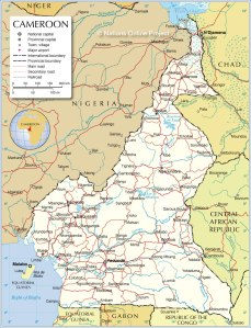 cameroon-political-map
