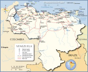 Venezuela-Map