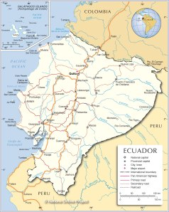 ecuador-political-map