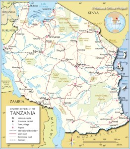 tanzania-political-map