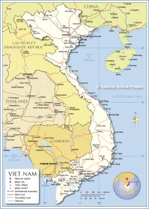 vietnam-political-map