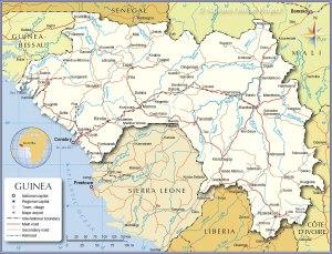 guinea-map