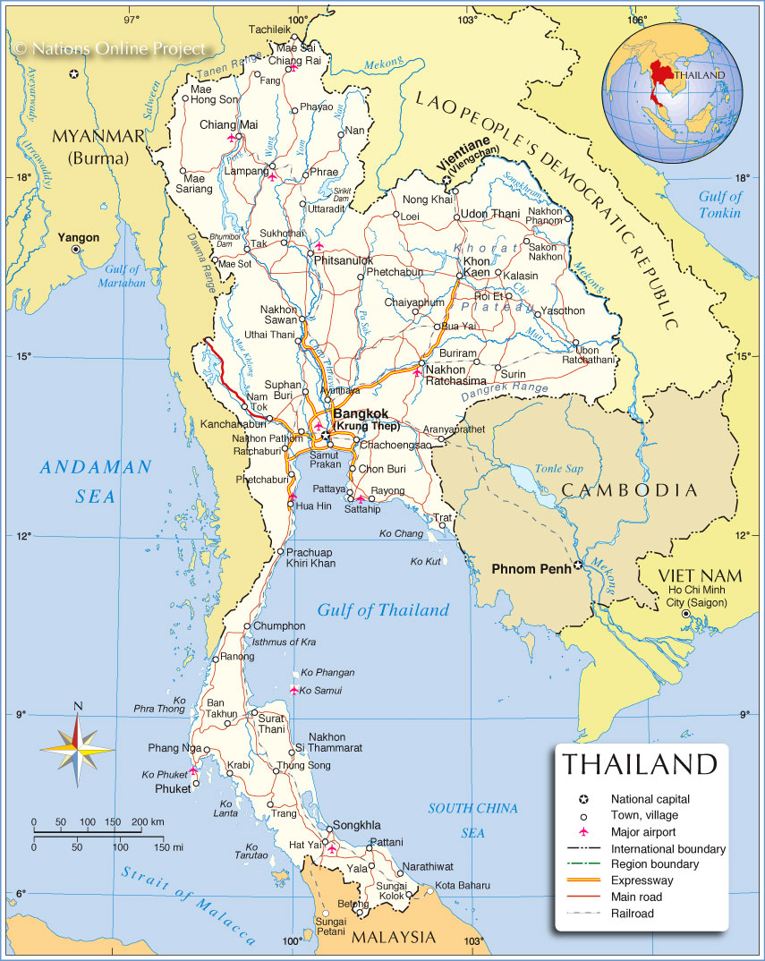 Comparison of southern thailand and indonesias