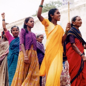 Women Marching Sq