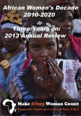African Women's Decade: 2013 Annual Review