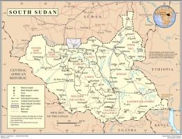 SouthSudan Map