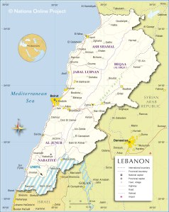 lebanon-map