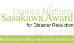 Call for Nominations: Sasakawa Award for Disaster RiskReduction