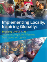 Implementing Locally, Inspiring Globally: Localizing UNSCR1325