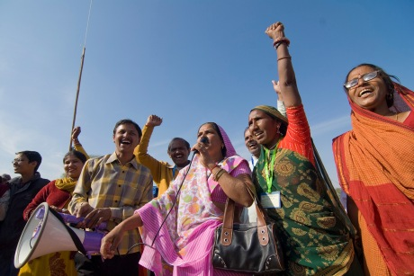 Elected women in India